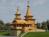 Проект деревянной церкви на Рублевском шоссе