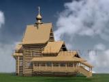 Проект деревянной церкви святого князя Владимира