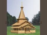 Проект деревянной церкви, Клин