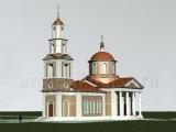 Проект церкви Вознесения Господня в Тишилово