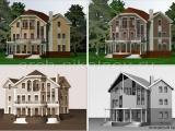 Декор фасадов на стадии существующего проекта