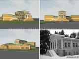 Архитектурный декор фасада в Раменском
