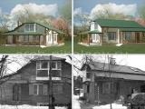 Дизайн-проект фасада дома