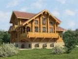 Элитный деревянный дом Велигож