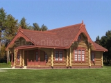 Элитный деревянный дом в стиле модерн