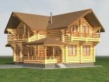 Деревянный дом Каролина