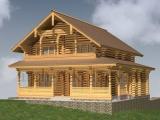 Элитный деревянный дом Садко