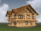 Элитный деревянный дом Сольвейг