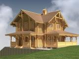 Элитный деревянный дом Святослав