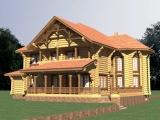 Элитный деревянный дом Вальгард