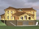 Элитный деревянный дом Велес