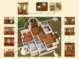 Дизайн-проект интерьера загородного дома